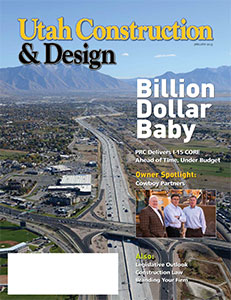 Utah Construction and Design Cover