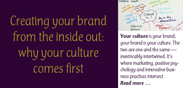 Creating Your Brand from the Inside Out