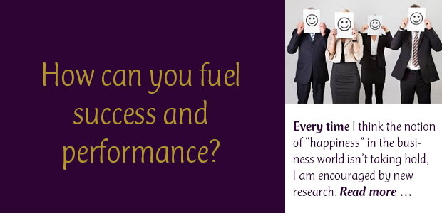 How Can You Fuel Success and Performance?