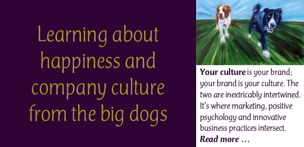 Learning About Happiness and Company Culture from the Big Dogs