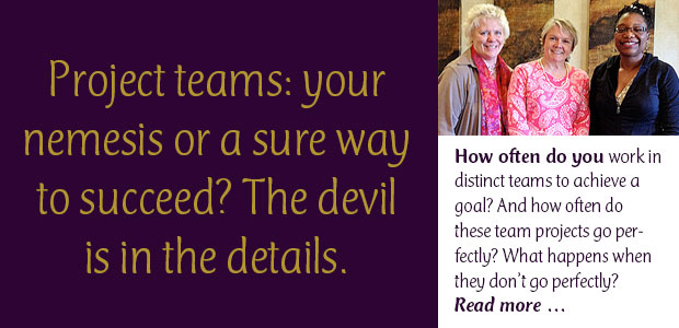 Project Teams: Your Nemesis or a Sure Way to Succeed? The Devil Is in the Details.