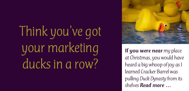 Think You've Got Your Marketing Ducks in a Row?