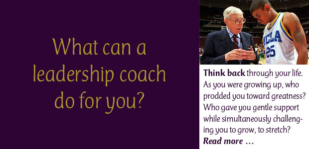 What Can a Leadership Coach Do for You?