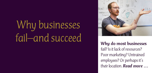 Why Businesses Fail--and Succeed