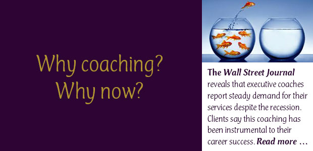 Why Coaching? Why Now?