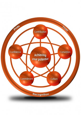 Performance Happiness Model V