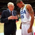 John Wooden Coaching Basketball