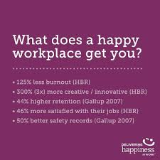 What Does a Happy Workplace Get You?