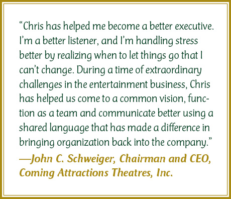 John Schweiger Testimonial for Chris Cook