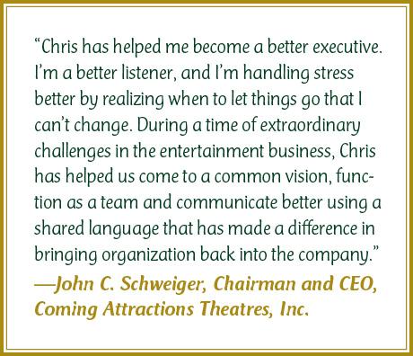 John Schweiger Testimonial for Chris Cook