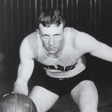 John Wooden Playing Basketball