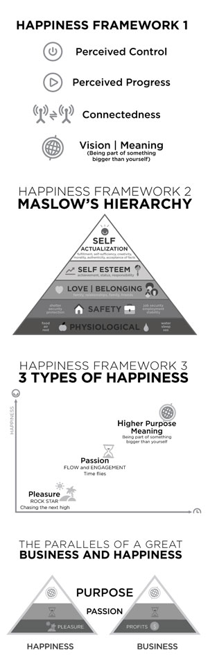 Delivering Happiness Frameworks