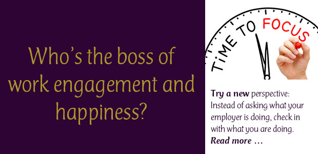 Who's the Boss of Work Engagement and Happiness?