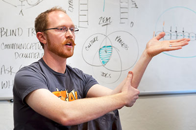 Adam Cuppy Presenting
