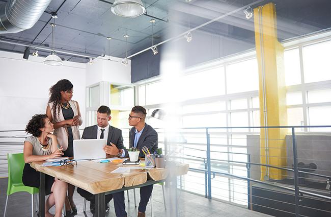 Workplace Organizational Meeting