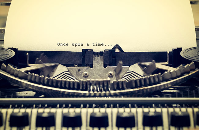 Once upon a Time on a Typewriter
