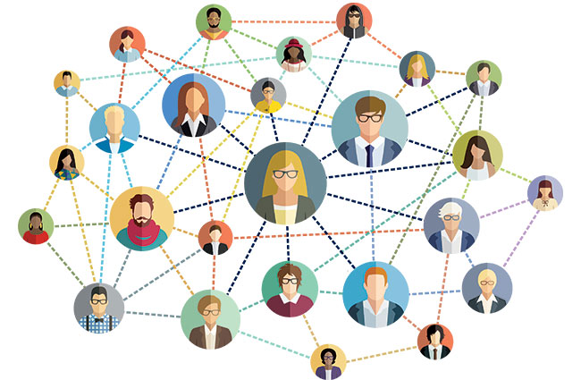 Professional Networking Infographic