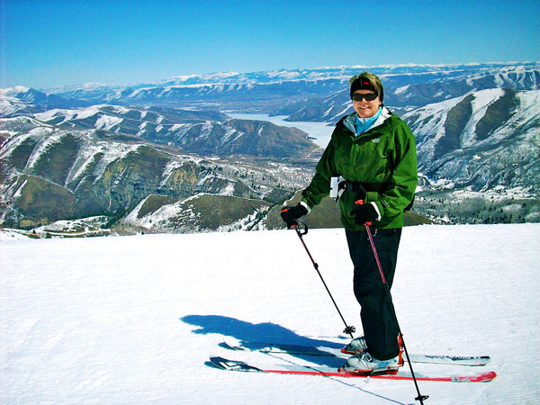 Chris Cook Skiing