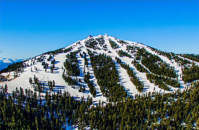 Mt. Ashland Aerial Drone Shot
