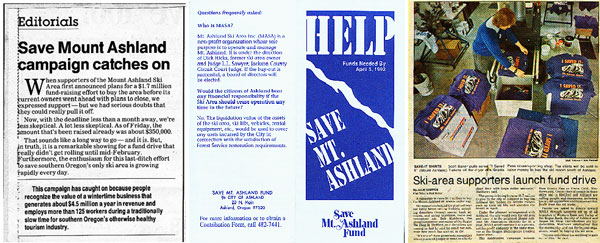 Save Mt. Ashland Montage