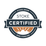 Stoke Snow-Certified Badge