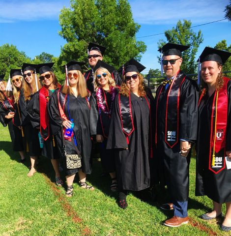 SOU Innovation and Leadership Program Graduating Class