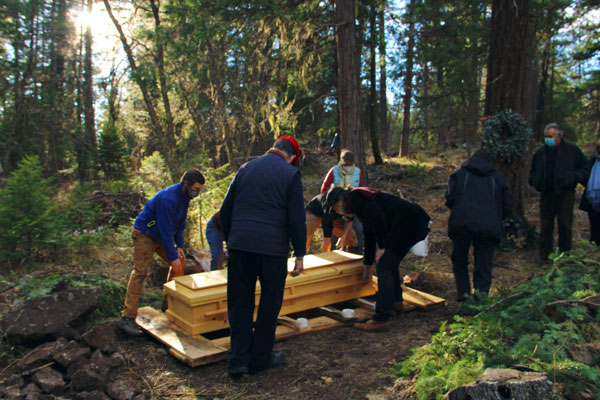 Family Burial at The Forest