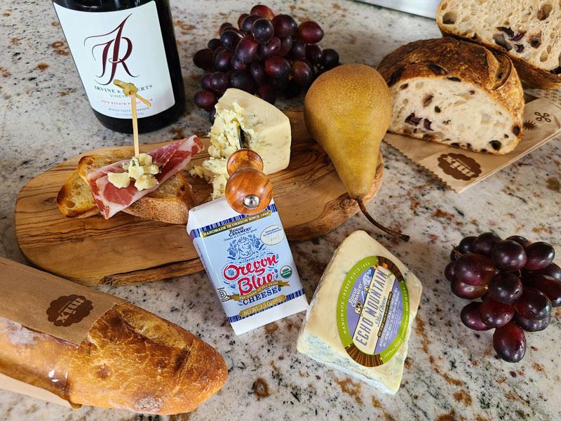 Ashland Food Co-op Kitchen Cheese, Fruit, Baguette