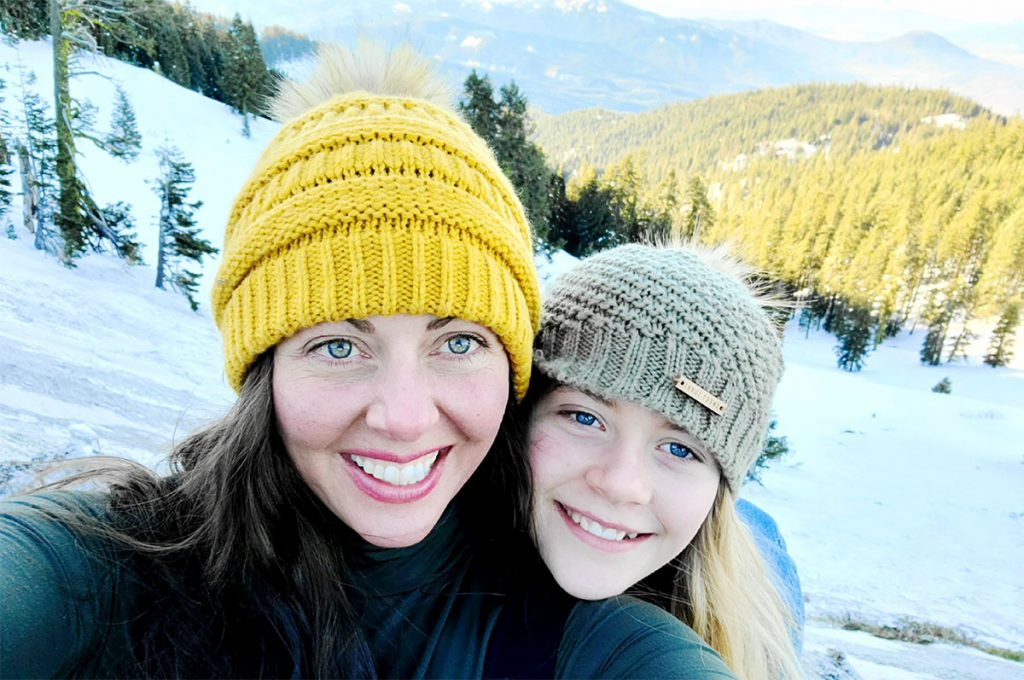 Tracy Kaiser with Daughter