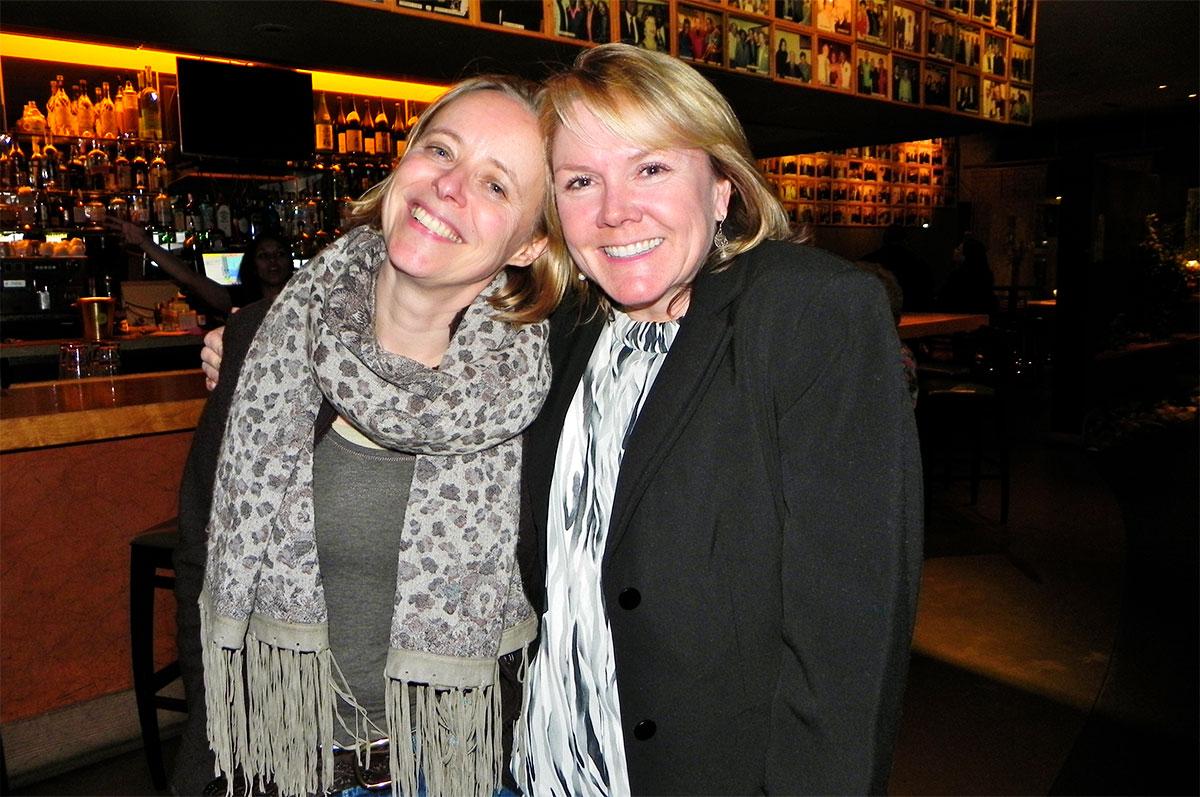 Jessica Pryce-Jones with Chris Cook